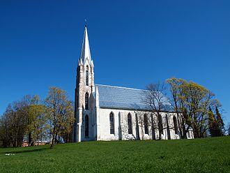 Tartu County - Image: Maarja Magdaleena church 2011