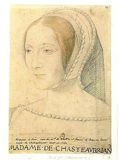 Françoise de Foix Mistress of the King of France