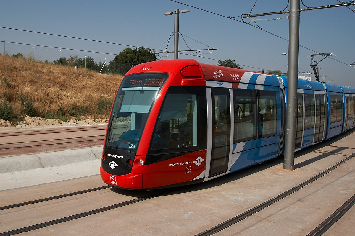 Lnea 2 Metro Ligero de Madrid  Wikipedia la enciclopedia libre