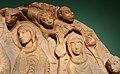 Maestro di cabestany, morte, glorificazione a assunzione della vergine, 1160 ca. (ville de cabestany) 06 turiboli.jpg