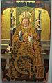 Maestro di s. severino, s. severinop in trono e santi, 1472 ca., da chiesa ss severino e sossio 06.JPG