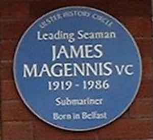 James Joseph Magennis - Image: Magennis Blue