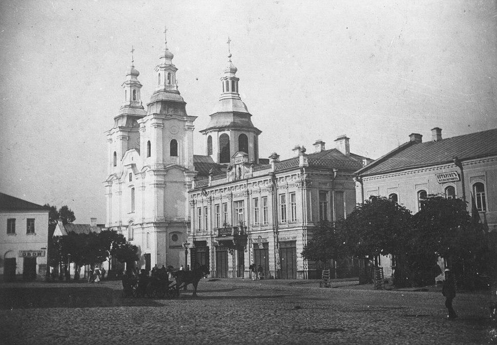 Mahiloŭ, Teatralny-Škłoŭskaja. Магілёў, Тэатральны-Шклоўская (1901-17)
