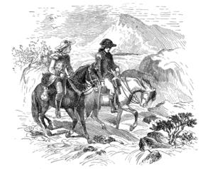 Horse-Shoe Robinson - Major Butler and Horseshoe Robinson