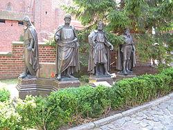 Malbork Castle - Malbork, Poland - Statues