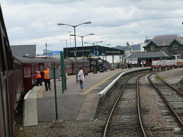 Mallaig railway station from The Jacobite 02.jpg