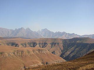 Maloti-Drakensberg Park International park in Lesotho and South Africa