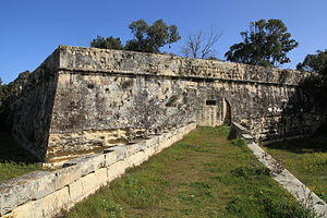 Floriana Lines - Faussebraye near St. Philip's Bastion