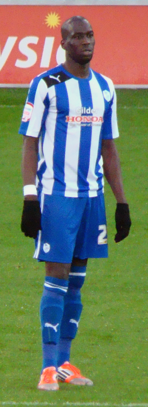 Mamady Sidibé - Sidibé playing for Sheffield Wednesday in 2012