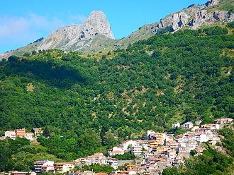 Fondachelli-Fantina - Image: Mammarocca