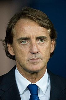 Roberto Mancini Italian footballer and manager