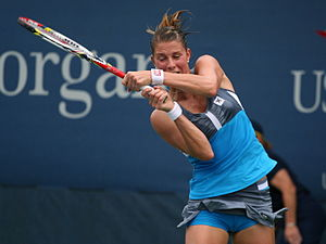 Mandy Minella - Minella at the 2012 US Open