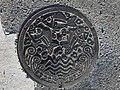 Manhole cover of Matsuura, Nagasaki 3.jpg
