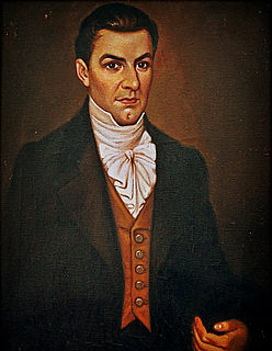 Manuel José Arce President of the Federal Republic of Central America