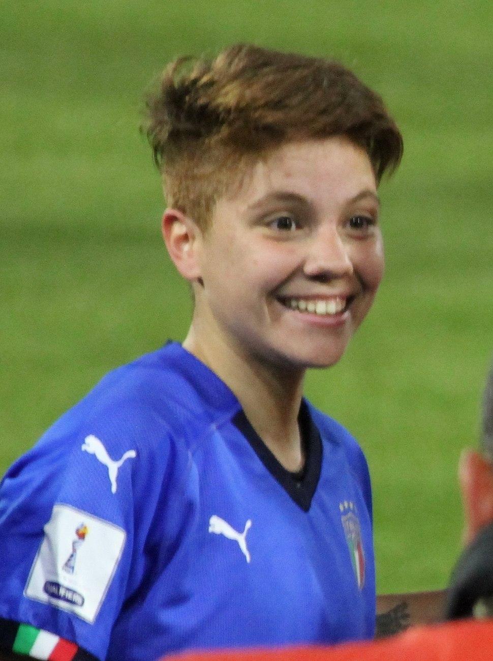 Manuela Giugliano, Italy vs Belgium women's, Ferrara 2018-04-10 06