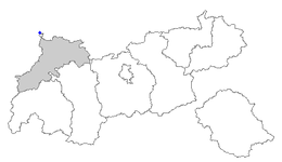 Location of Jungholz within Tyrol