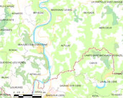 Map commune FR insee code 19007.png