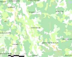 Map commune FR insee code 19088.png