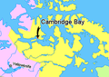 Map indicating Cambridge Bay (hamlet), Nunavut, Canada.png