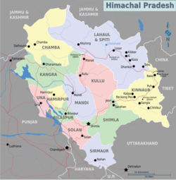 Chandra Taal is located in Himachal Pradesh