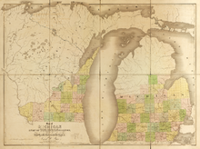 Map of Michigan and Part of Wisconsin Territory WDL9603.png