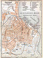 Map of Odessa from German edition of Baedeker's Russland, 1892.jpg