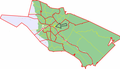 Map of Oulu highlighting Parkkisenkangas.png