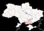 Oblast di Cherson - Mappa di localizzazione
