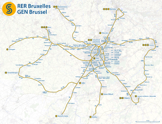 Map of the RER Bruxelles - GEN Brussels.png