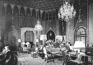 Mar-a-Lago - Living room of Mar-a-Lago, 1967