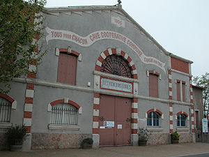 Winemaking cooperative - The winemaking cooperative in Maraussan in the Languedoc region is one of France's oldest.