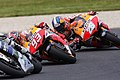 Marc Márquez and Dani Pedrosa 2013 Phillip Island 3.jpeg