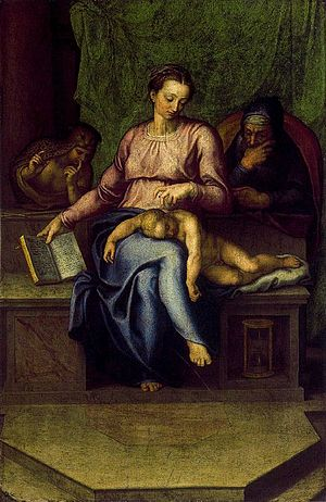The Holy Family (Il Silenzio)