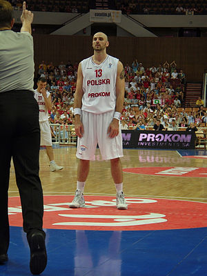 Sport in Poland - Poland's NBA player Marcin Gortat represented the Poland national basketball team on numerous occasions