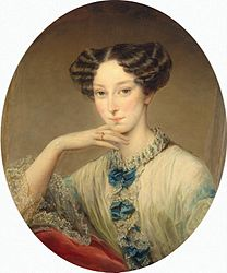 Робертсон, Кристина: Портрет великой княгини Марии Александровны