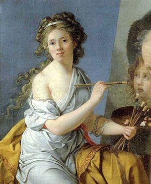 Marie-Guillemine Benoist - Marie-Guillemine Benoist self-portrait