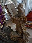 Marienstiftskirche Lich Kanzel Thomas von Aquin 09.JPG
