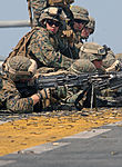 Marines From Lima Company Conduct Live-fire, Close-quarters Marksmanship Drills Aboard USS Bataan DVIDS261481.jpg