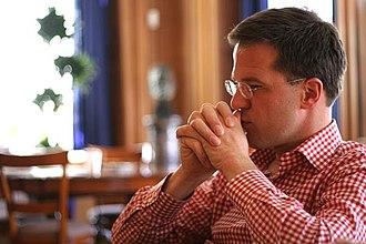 Mark Rutte - Rutte in 2006