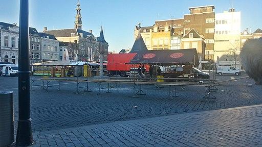 Markt 's-Hertogenbosch zaterdag 7 uur