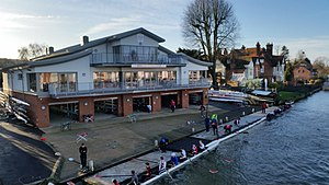 Marlow Rowing Club - Rebuilt Marlow Rowing Club 2015