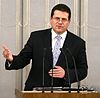 Maroš Šefčovič Senate of Poland 01.JPG