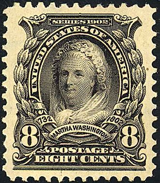 Martha Washington - Martha Washington1902 issue
