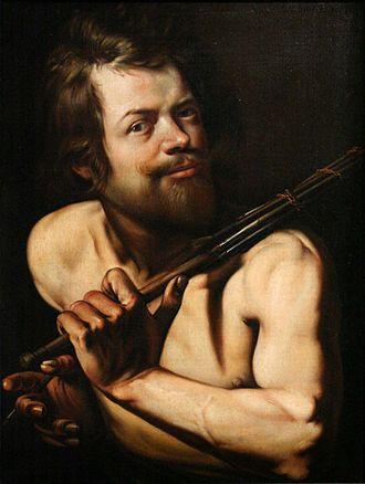 Martin Hermann Faber - Selfportrait