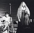 Mary Black and Dolores Keane with De Dannan, Trowbridge Folk Festival 1985.jpg