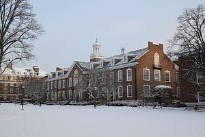 Whiting School of Engineering - Image: Maryland Hall, Johns Hopkins University, Jan 2011