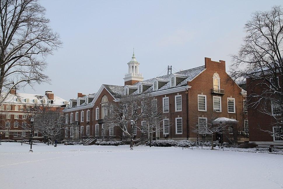 Maryland Hall, Johns Hopkins University, Jan 2011