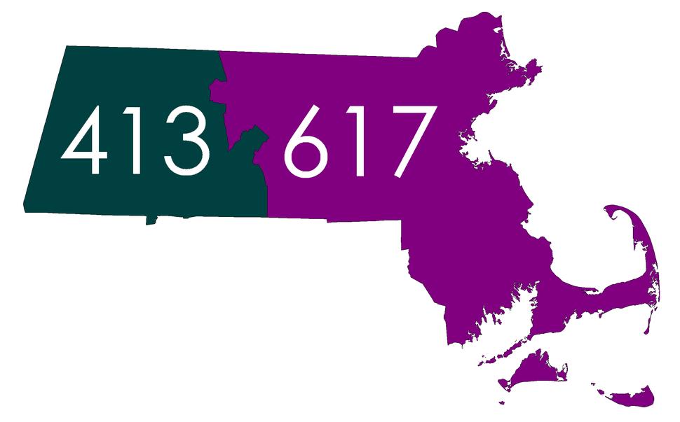 Massachusetts Area Code Map 47-88