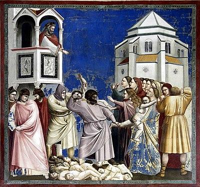 Saint du jour - Page 3 400px-Massacre_of_the_Innocents_-_Capella_dei_Scrovegni_-_Padua_2016