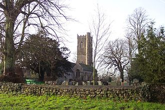 Tewdrig - The Church of St. Tewdric at Mathern